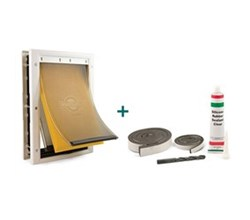 PetSafe Extreme Weather Pet Doors petsafe extreme weather door with installation kit
