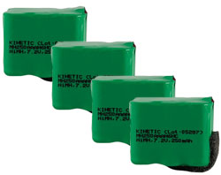 Batteries for PetSafe Training Systems sportdog sdt00 11911 4 pack