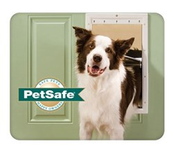 Large Dogs petsafe ppa00 10960 plastic pet door
