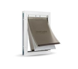 PetSafe Extreme Weather Pet Doors petsafe extreme weather aluminum pet door